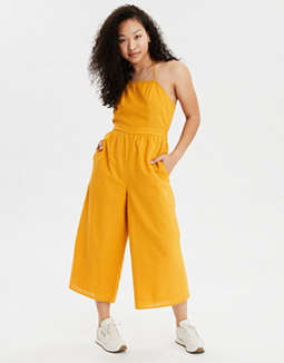 AE Square Neck Strappy Jumpsuit