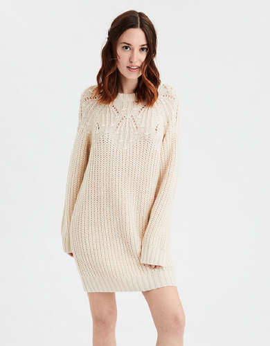 AE Crew Neck Sweater Dress