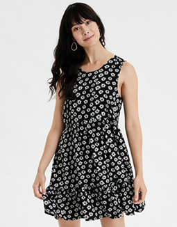 AE Printed Babydoll Dress