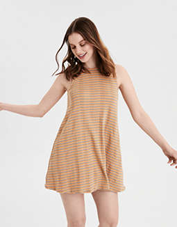AE Striped Cut Out Dress