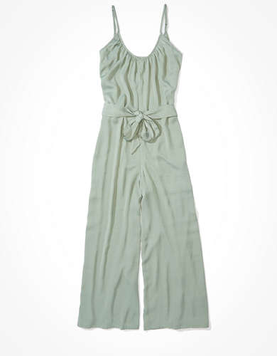 AE Silky V-Neck Jumpsuit