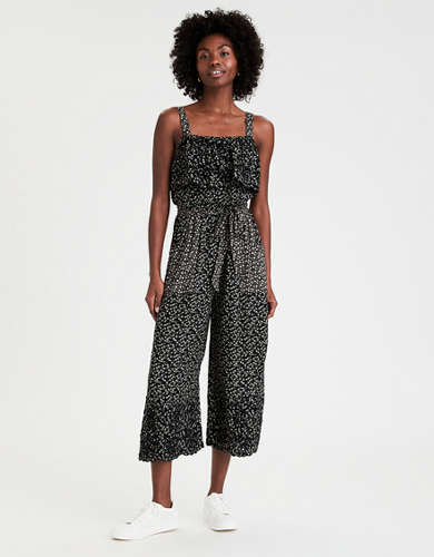AE Embroidered Wide Leg Jumpsuit