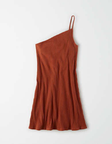 AE One Shoulder Bodycon Mini Dress