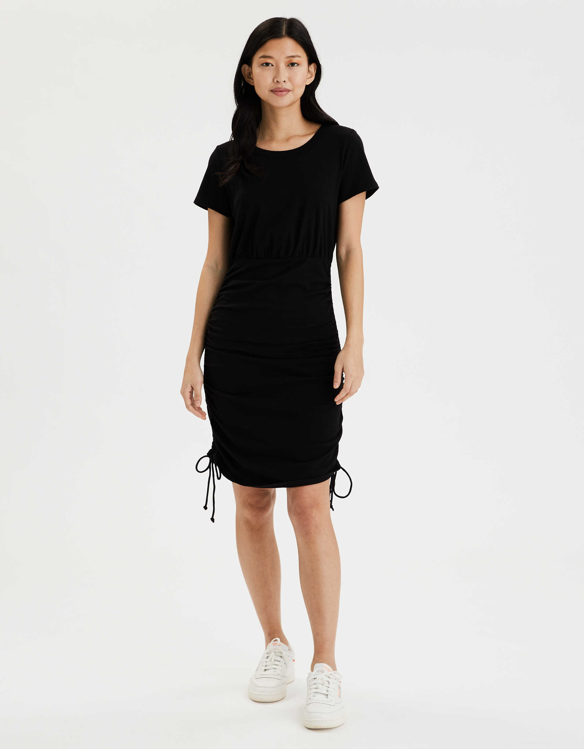 AE Ruched T-Shirt Dress