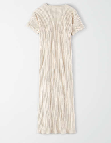 AE Ribbed Midi Dress
