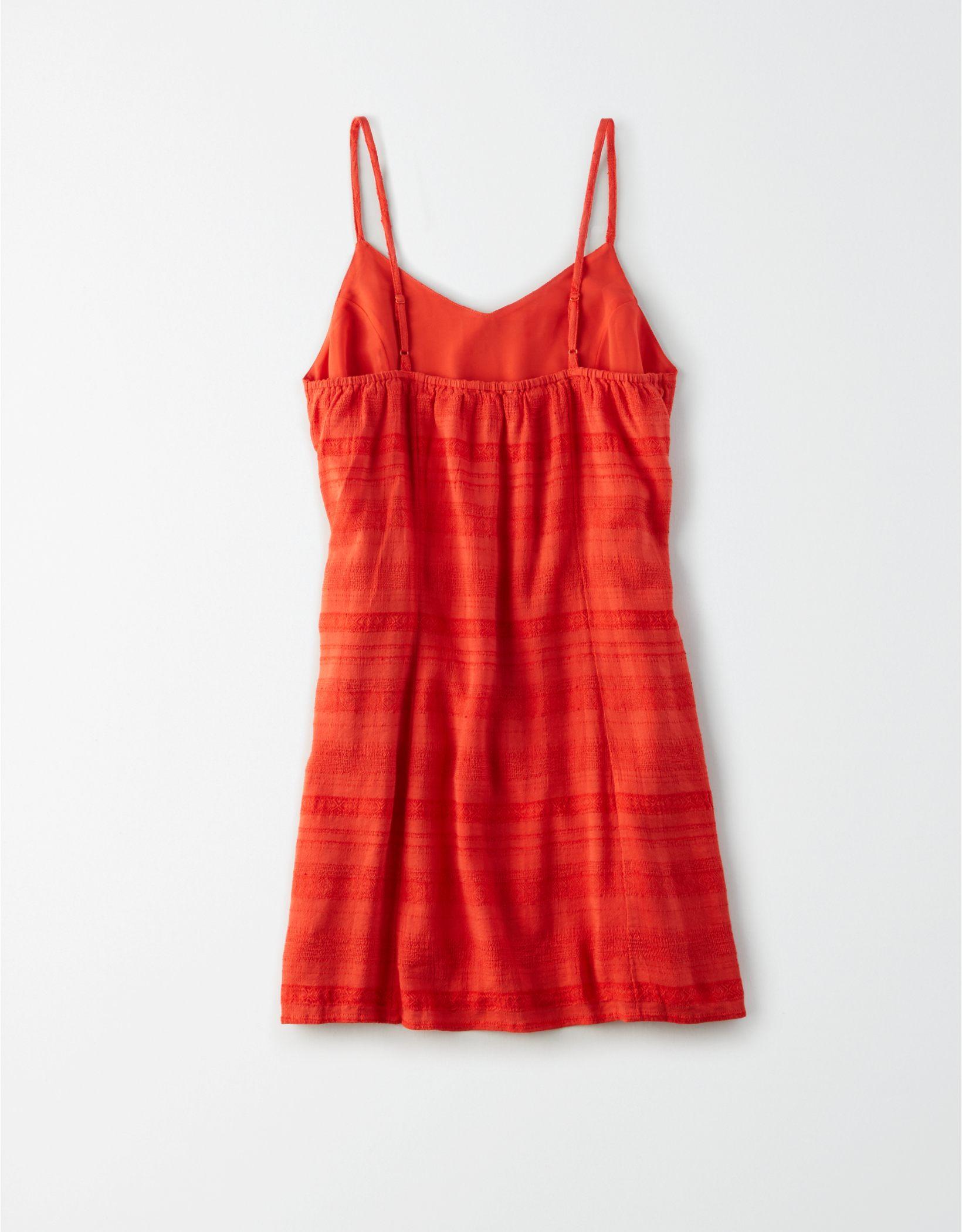 AE Tie Front Mini Dress