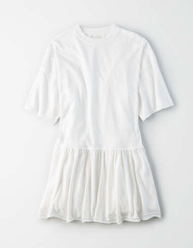 AE Fleece Oversized Babydoll Dress