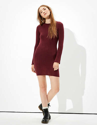AE Bodycon Sweater Dress