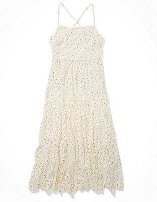 AE Tiered Midi Dress