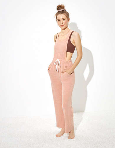 AE Fleece Utility Jumpsuit