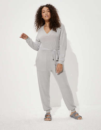 AE Fleece Jogger Jumpsuit