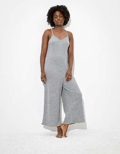 AE Plush V-Neck Jumpsuit