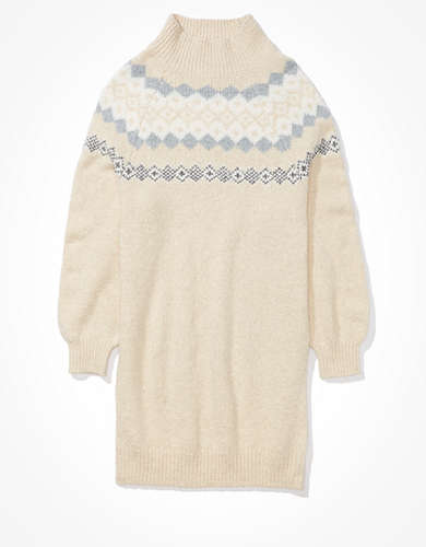 AE Fairisle Sweater Dress