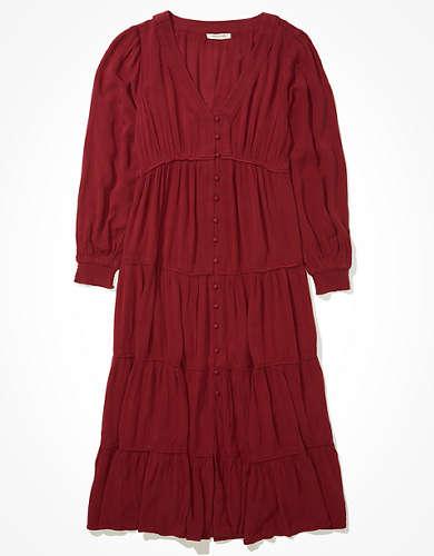 AE Tiered Maxi Dress