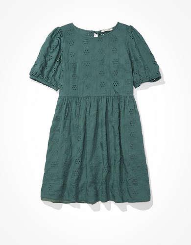 AE High Neck Babydoll Dress