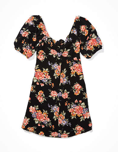 AE Puff Sleeve Mini Dress