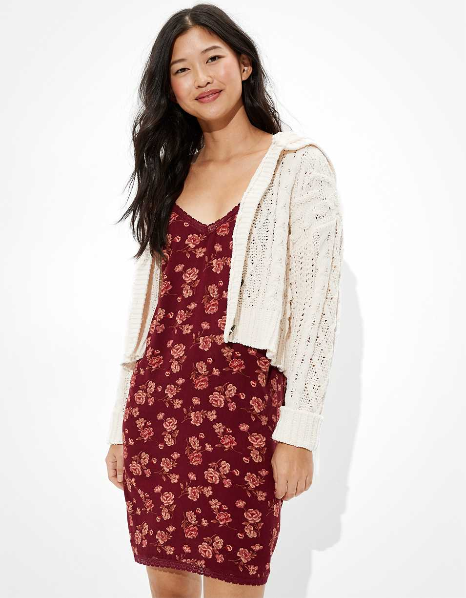 AE Lace Slip Mini Dress
