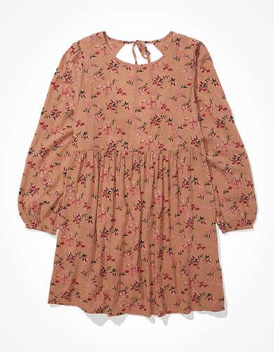 AE Printed Babydoll Dress