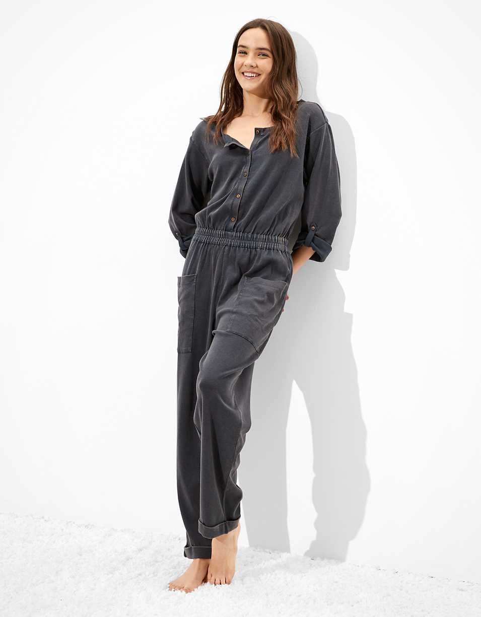 AE Knit Workwear Jumpsuit