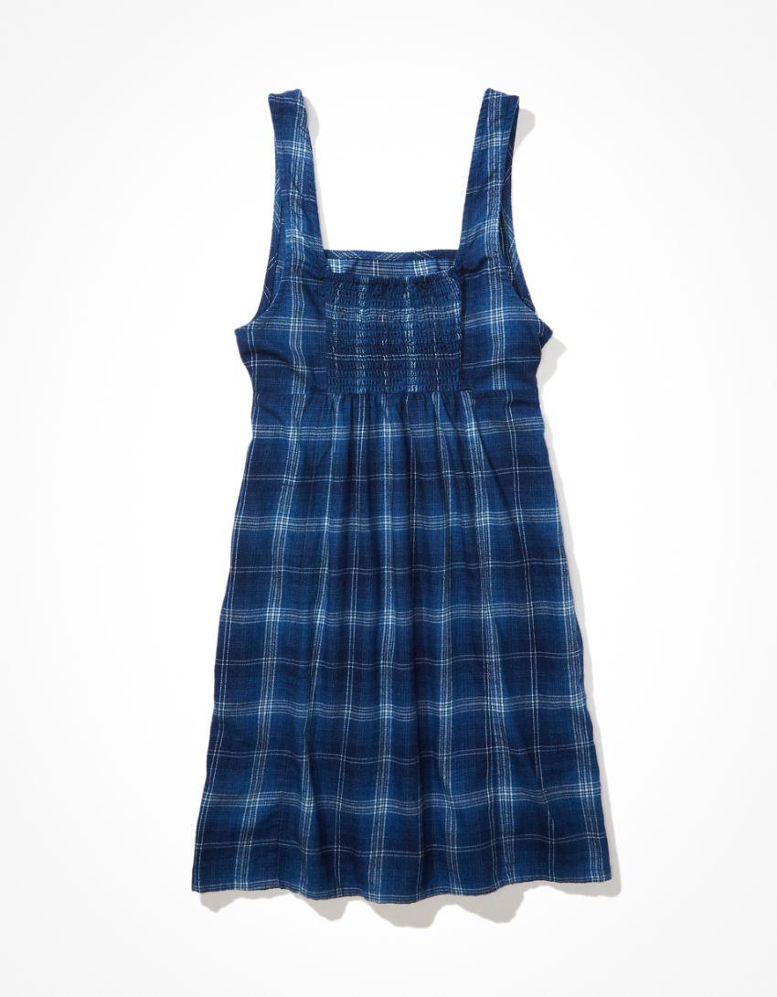 AE Square-Neck Mini Dress