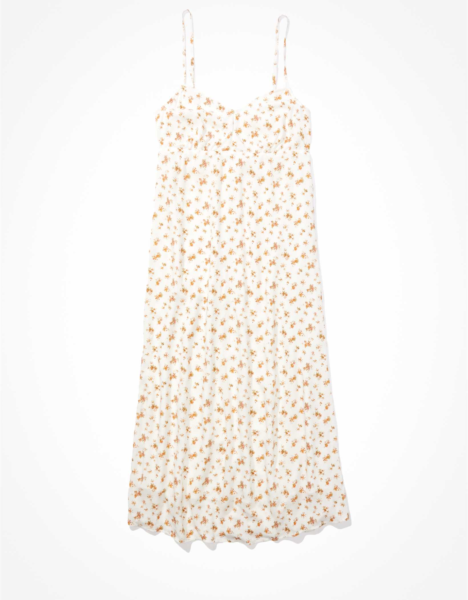 AE V-Neck Midi Dress