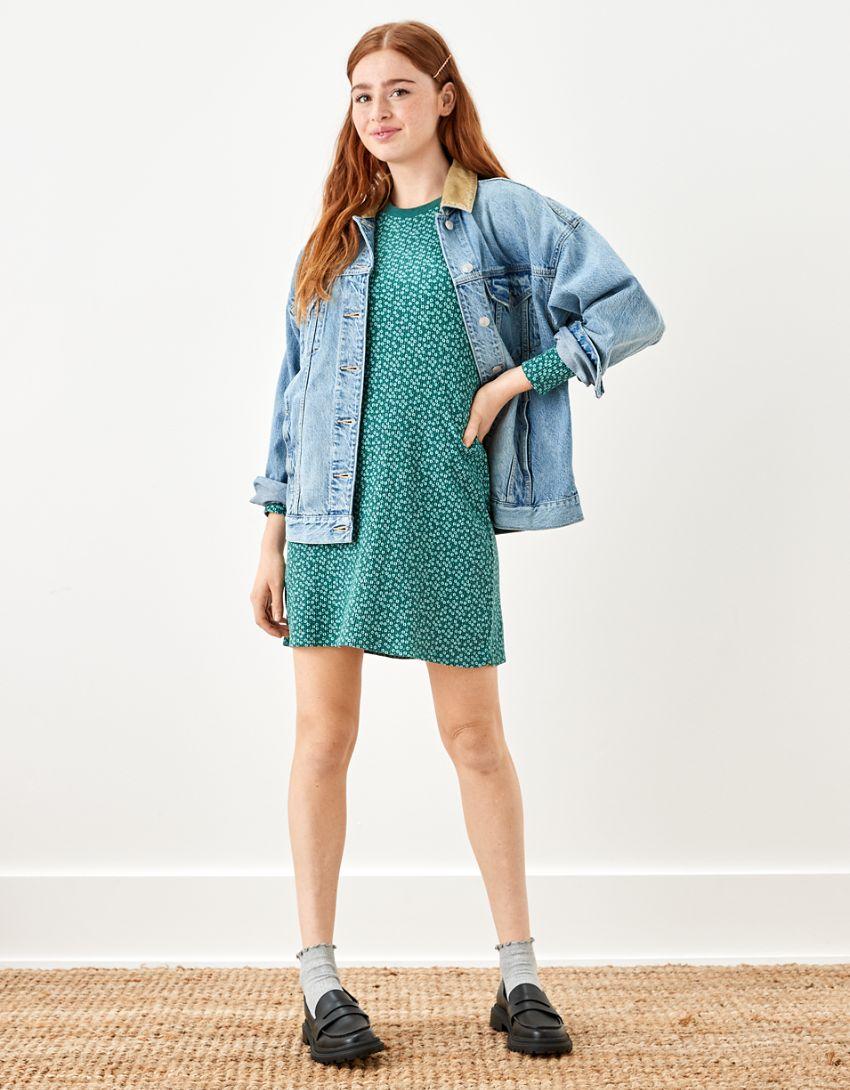 AE Long-Sleeve Mini Dress