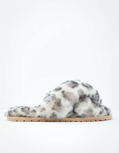 Emu X AE Australia Snow Leopard Mayberry Slipper