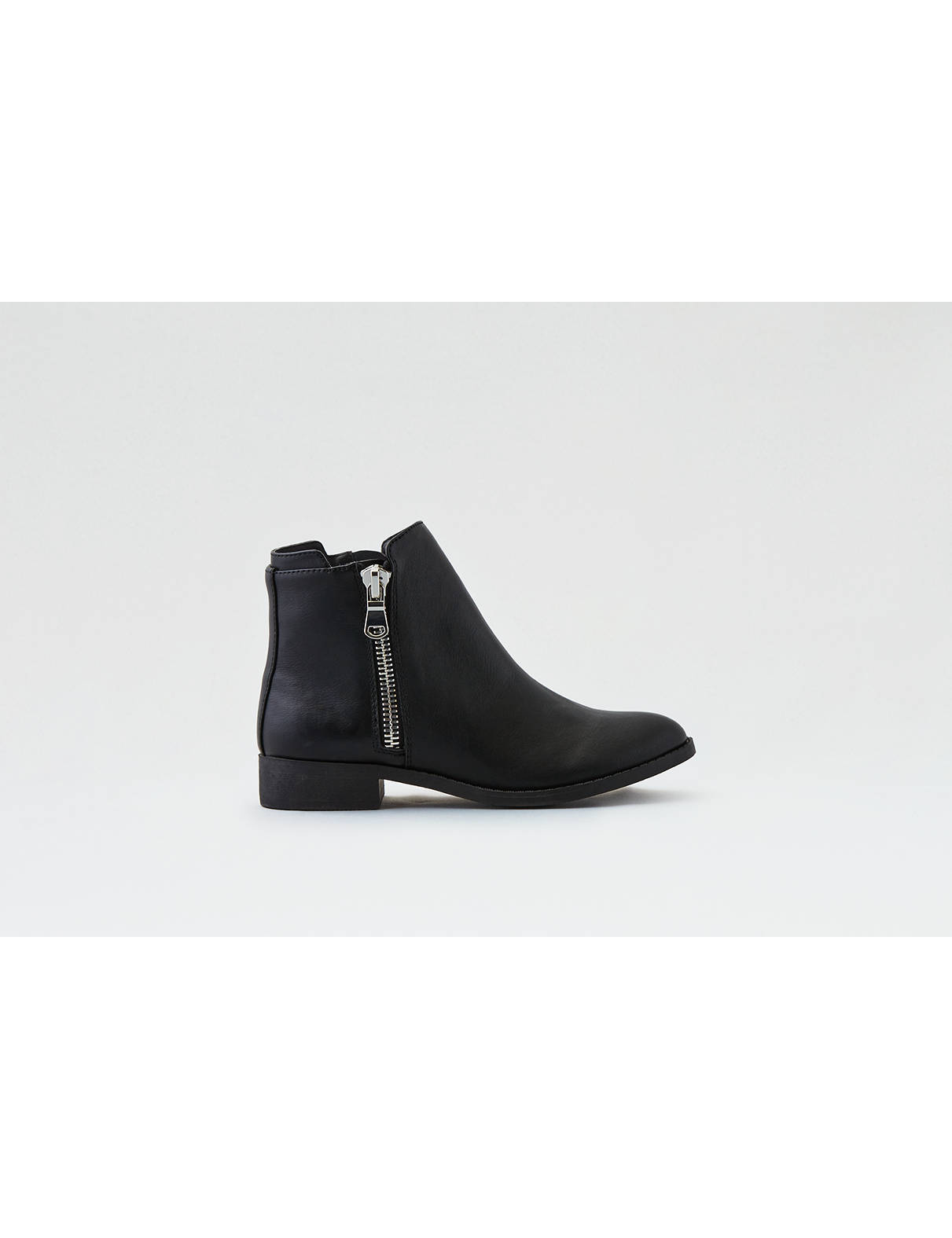 Display product reviews for AEO Chunky Side Zip Bootie