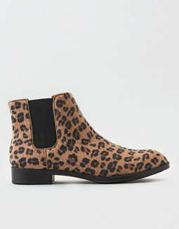 AEO Leopard Chelsea Boot