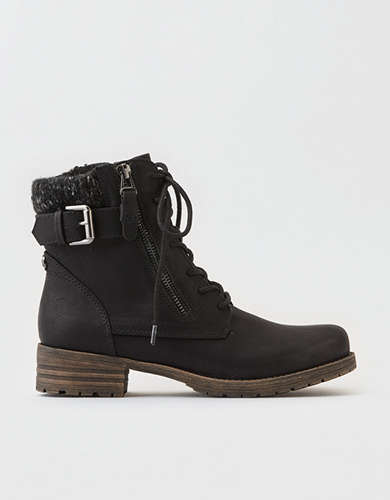 AE Knit Cuff Lug Boot