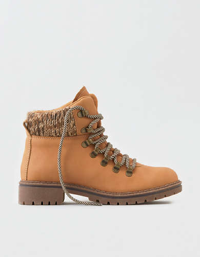 AEO Knit Cuff Hiker Boot