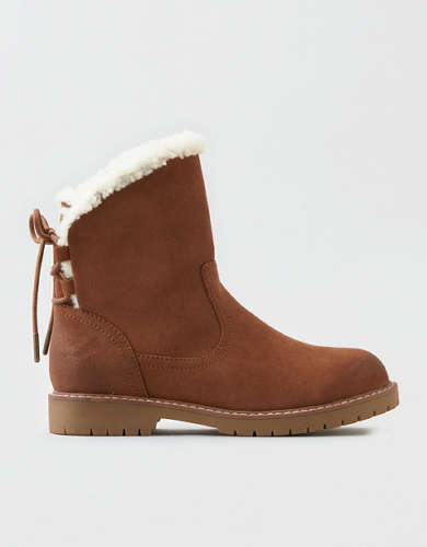 AEO Back Lace Up Boot