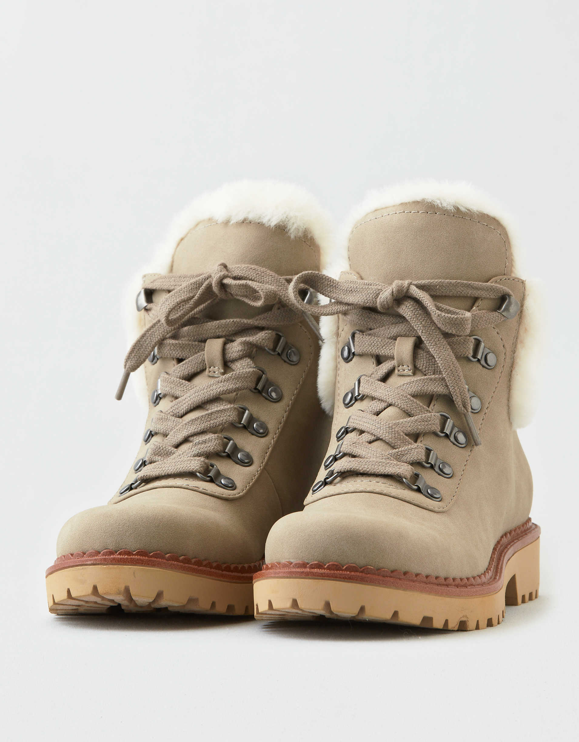 AEO Fur Lined Hiker Boot