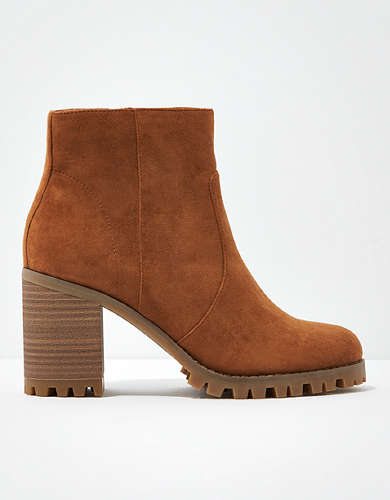 AE Block Heel Boot