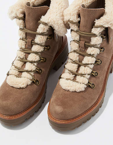 AE Sherpa Lace Up Boot