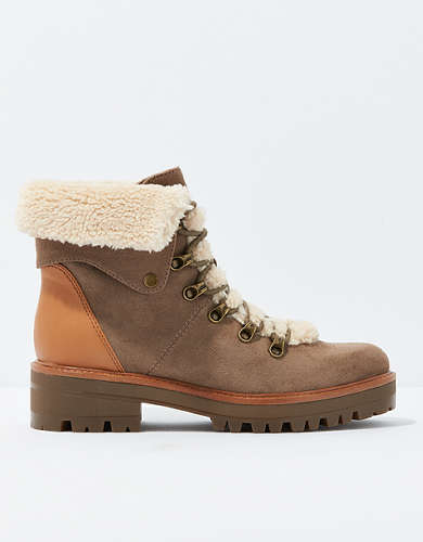 AEO Sherpa Lace Up Boot
