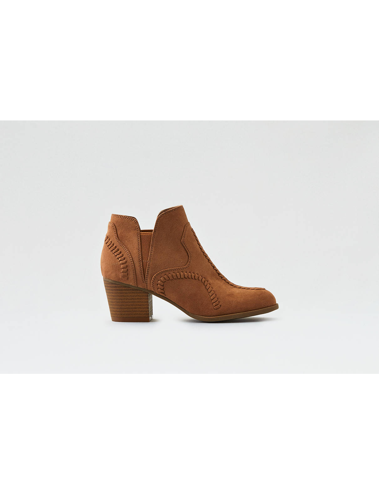 Display product reviews for AEO Stitched Heel Bootie