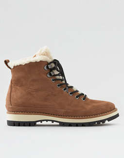 Aeo Fur Lined Hiker Boot by American Eagle Outfitters