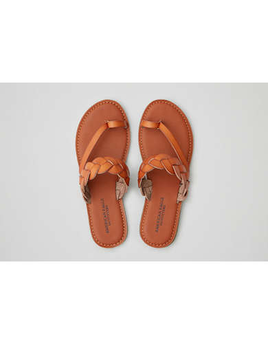 Womens Tan Sandals American Eagle Outfitters