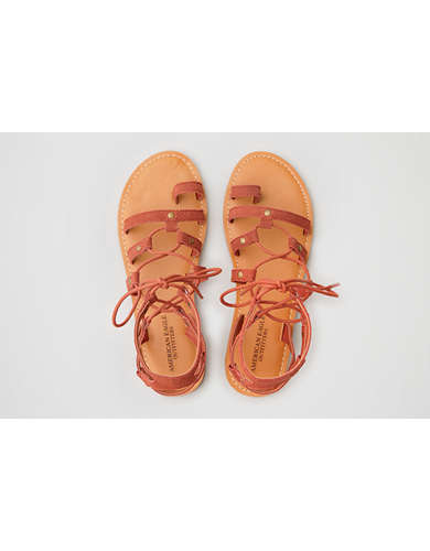 AEO Suede Toe Ring Sandal  - Free Shipping