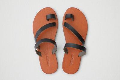 Toe Ring Slide Sandal