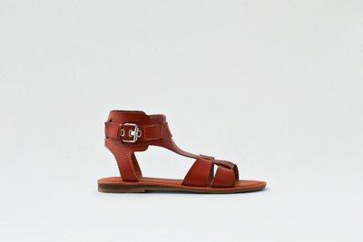 Strappy Shield Sandal