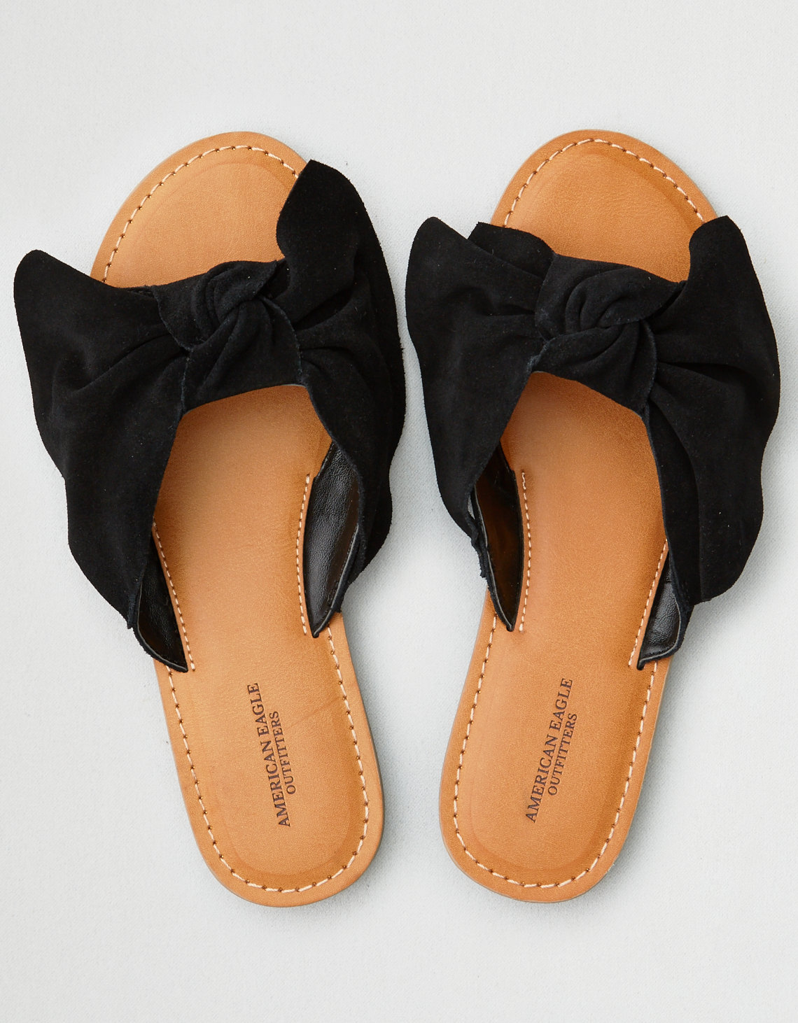 AEO Oversized Bow Slide Sandal. Placeholder image. Product Image