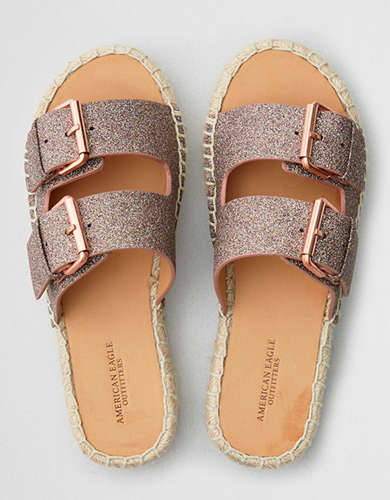 Buckled Womens Sandals American Eagle Outfitters