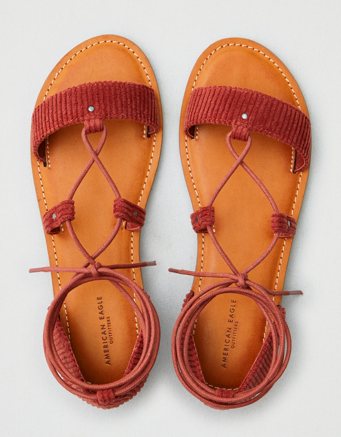 marketable sale online AEO Corduroy Lace Up Sandal quality original popular cheap price the cheapest online new sale online hhI9ZKeTKX