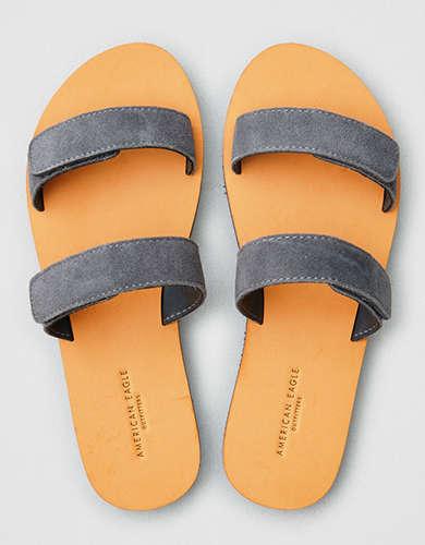2fae1a8bf8e AE Suede Double Strap Sandal