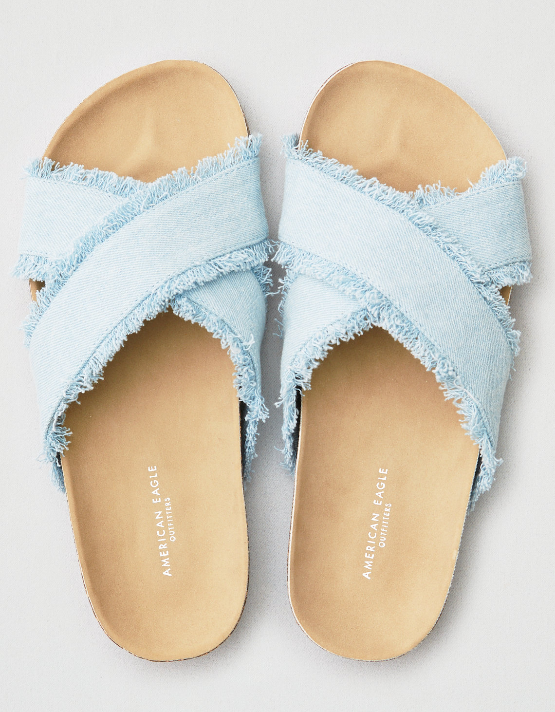 AEO Frayed X-Band Sandal