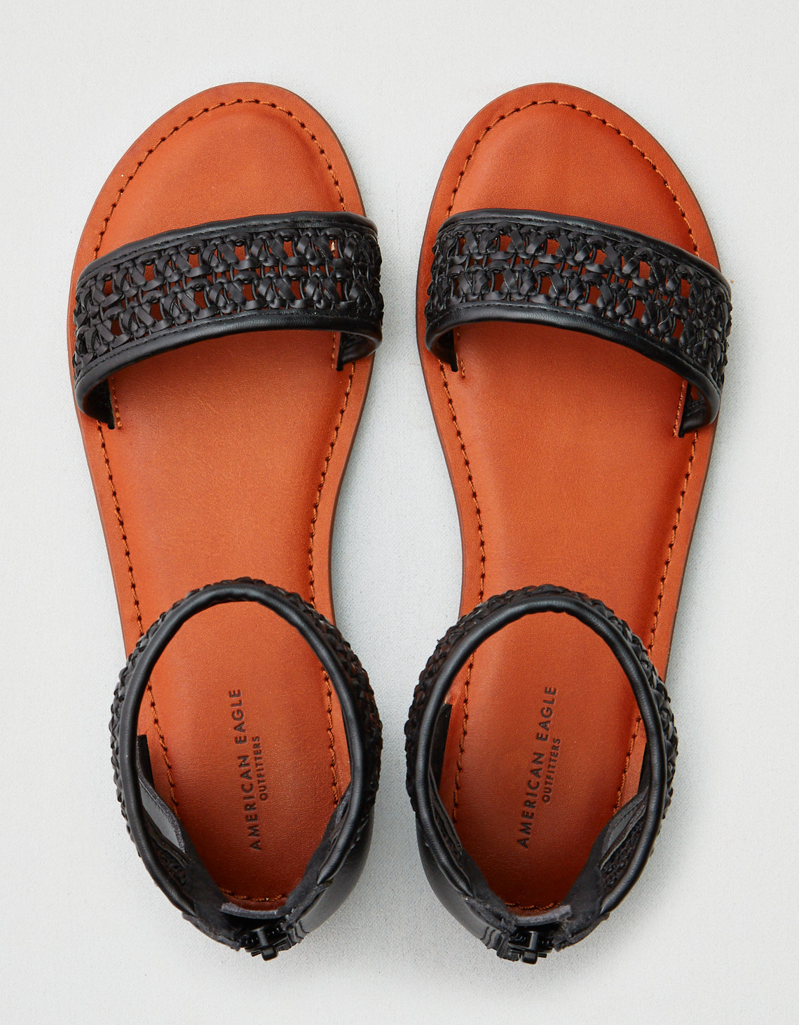 2d007f868c5be AE Woven Strap Sandal
