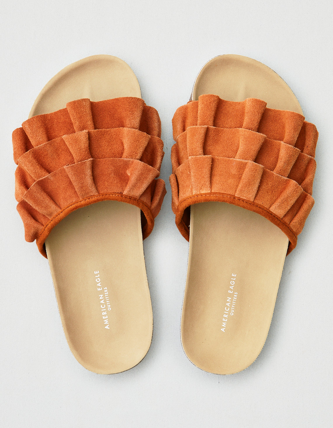 5297cccdfe54 AEO Ruffled Slide. Placeholder image. Product Image
