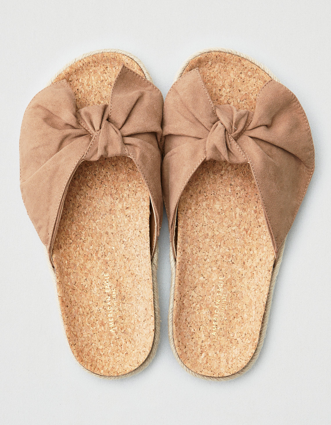 78a94cbdd AEO Bow Slide Sandals
